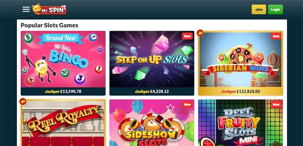 new online slots casino games