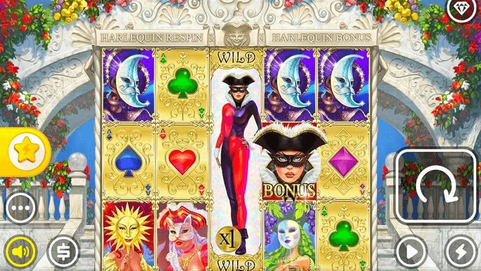 Phone Vegas - Harlequin Carnival