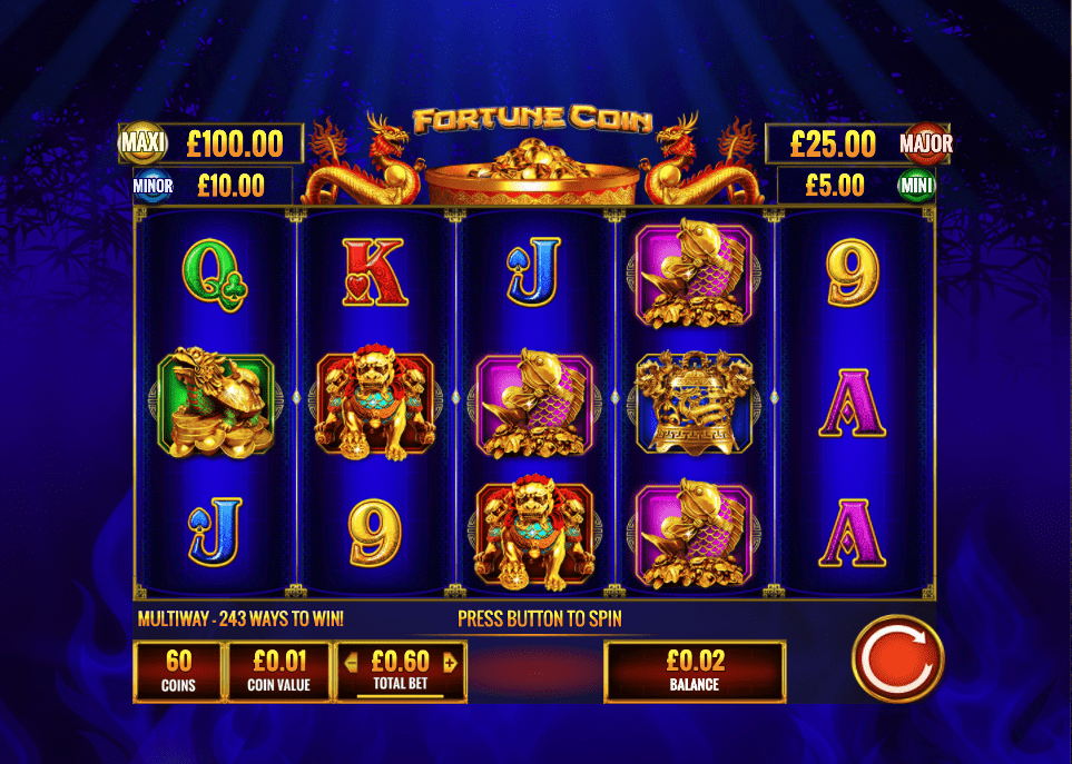 Coins Of Fortune Online Slots Game