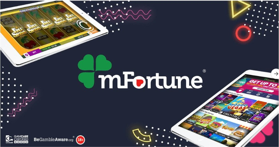 mFortune Mobile Casino free spins bonus promos