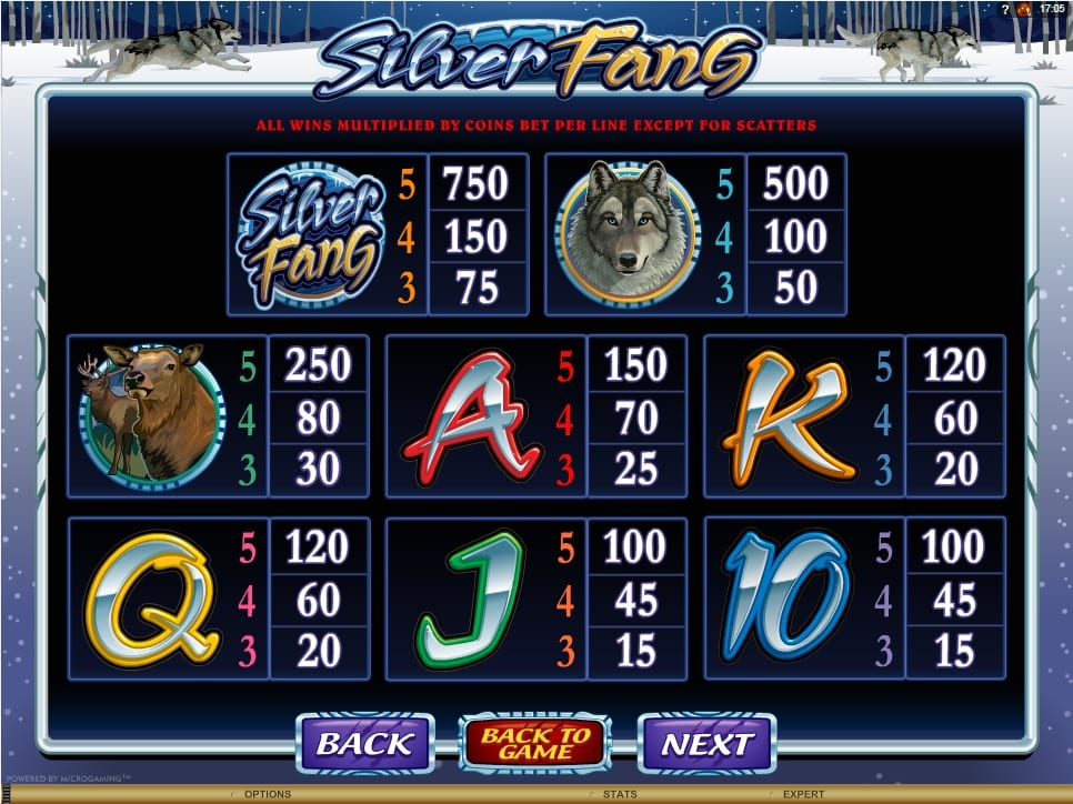online slots free spins silver fang